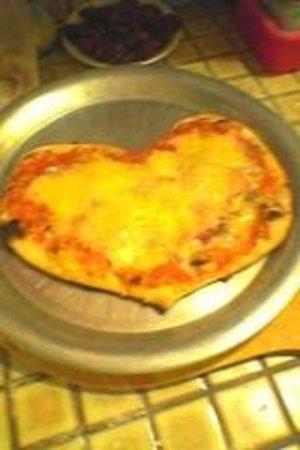 Chez Didier et Brigitte : Pizza St Valentin!