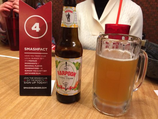 Smash Burger: Beer