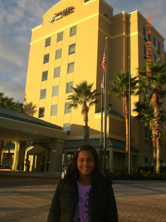 SpringHill Suites Orlando Convention Center/International Drive Area : Desde afuera
