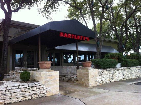 Bartlett's Exterior Entrance