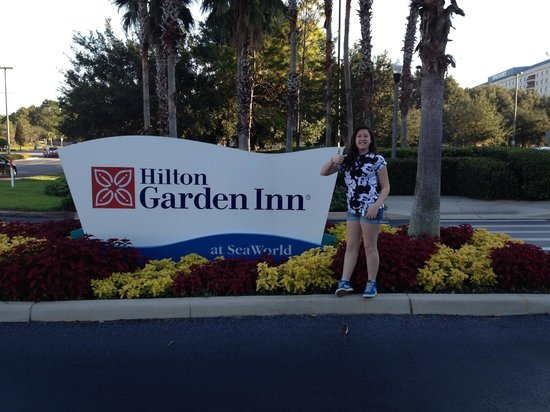 Hilton Garden Inn Orlando at SeaWorld : ;0)