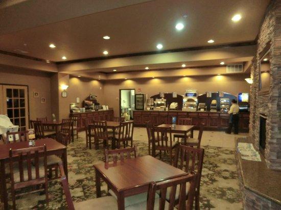 Holiday Inn Express Alburquerque N - Bernalillo: breakfast room