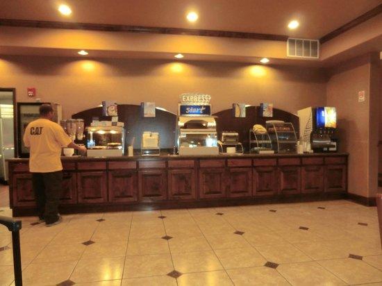 Holiday Inn Express Alburquerque N - Bernalillo: breakfast