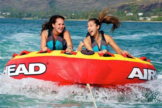 H2O Sports Hawaii - Seabreeze Watersports : Bumper Tube