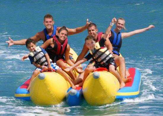 H2O Sports Hawaii - Seabreeze Watersports : Banana Boat