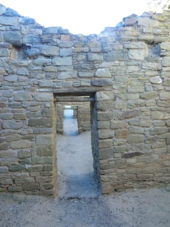 Aztec Ruins National Monument: one room going into the next