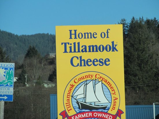 Tillamook Cheese Factory: Here's the tour.... not much else