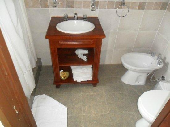 Posada Newenkelen: Bacha del baño