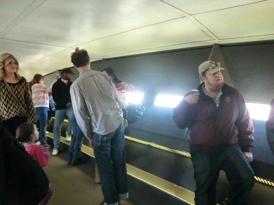 The Gateway Arch : inside the arch