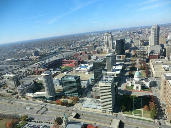 Gateway Arch : view from top