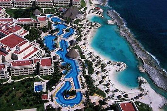 Hard Rock Hotel Riviera Maya : From the top of the slide