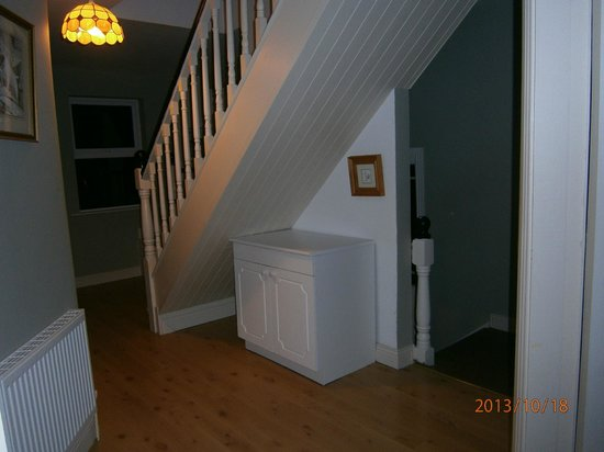Dingle Esk View: interior stairs