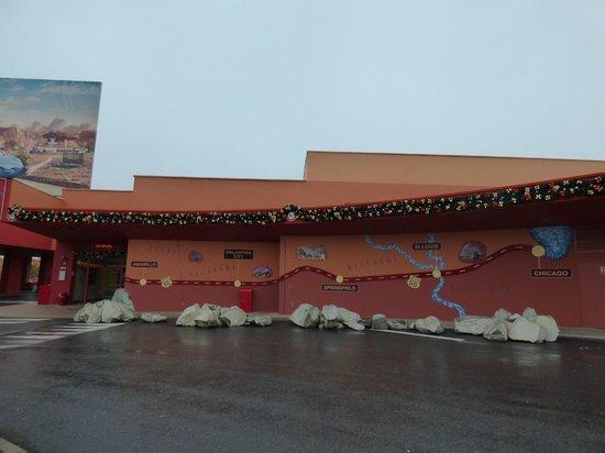 Disney's Hotel Santa Fe : Magnifica Decoración ( aún quedaban restos de la Navidad )