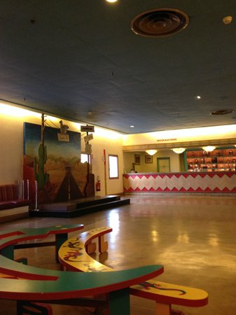 Disney's Hotel Santa Fe : Parte de la Recepcion