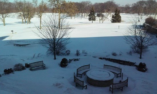 Eaglewood Resort & Spa: Majestic view from banquet room at Eaglewood Resort