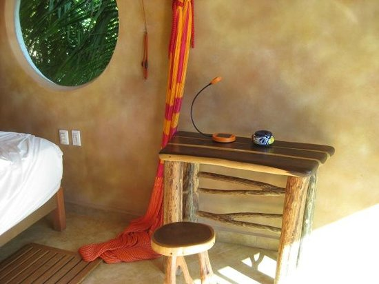 Suenos Tulum : There's also a hammock in the room, but I didn't try it out