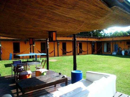 THC Hostel: Vista desde el deck