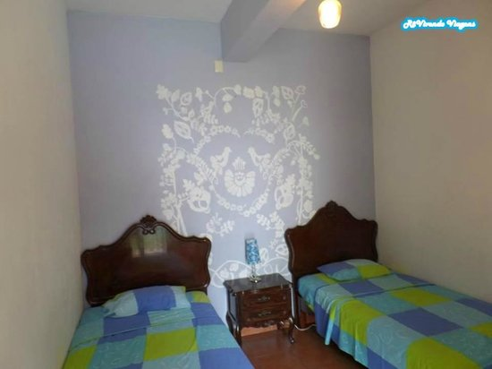 Azul Cielo Hostel: Quarto duplo