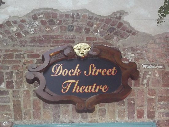 Dock Street Theater: Name Plaque