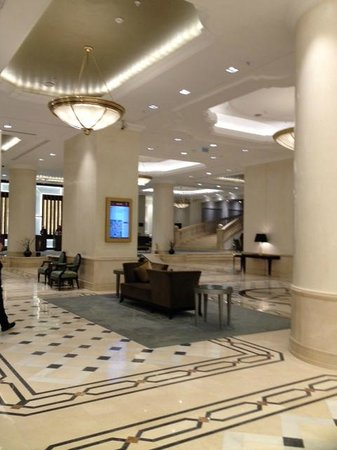 JW Marriott Bucharest Grand Hotel: Lobby Reception Area