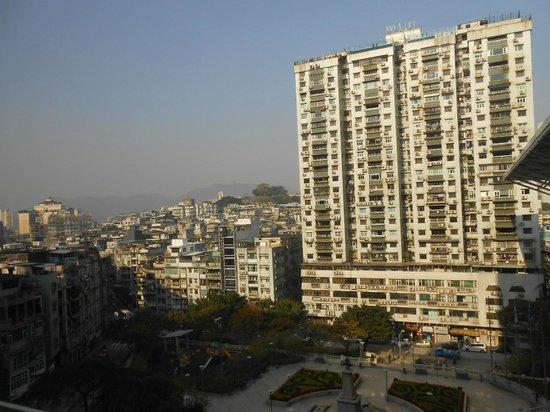 Hotel Royal Macau: モンテの砦がみえます。