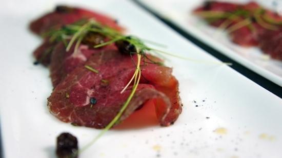 Antipasti carpaccio di chianina marinato agli agrumi foto di novecento ristorante gourmet - Puglia in tavola bitetto ...
