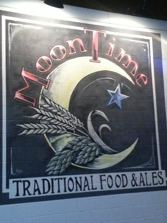Moon Time: When you see this sign...you have arrived!