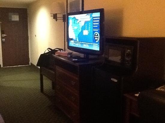 Hampton Inn Dumfries/Quantico: tv and micro.fridge