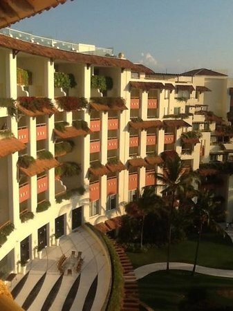 Grand Velas Riviera Nayarit: from our 8th balcony