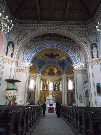 Potsdam, Alemania, Iglesia de San Pedro y San Pablo. Interior.