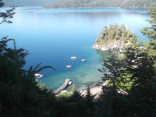 El Mirador - Refugio de Montana: Vista al lago