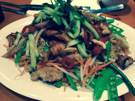 Pei Wei Asian Diner : Thai Chile and Lime with Chicken