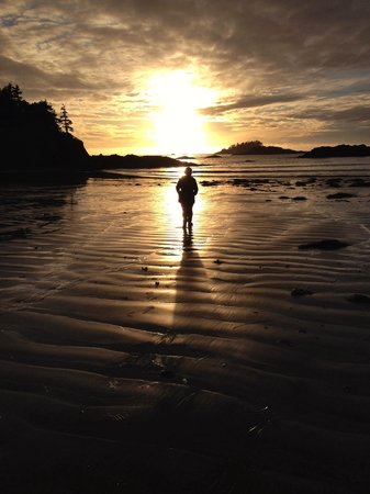 Chesterman Beach: Sunsets are a must see when in Tofino as they are never the same.