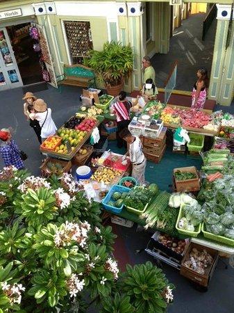 King's Village Shopping Center: farmers market