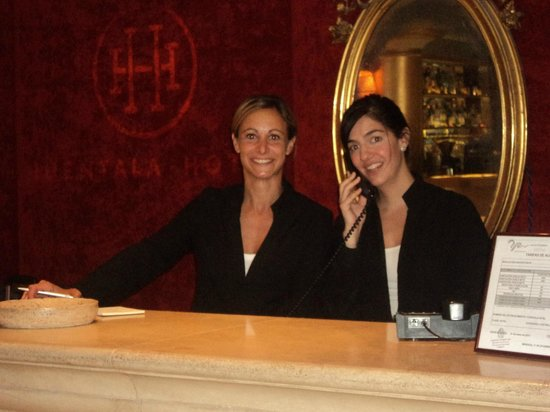 Recepción del Huentala Hotel