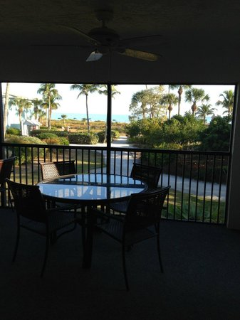Sanibel Inn: 2nd Condo - View