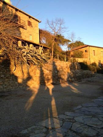 Borgo Dolci Colline: The sunsets here are Breath Taking!