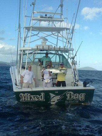 """Mixed Bag Sportfishing - Offshore Adventures: Susie and her 58"""" King Mackerel"""