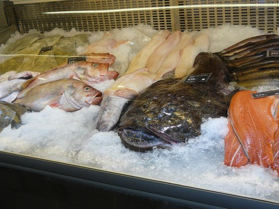 Fish Market : huge prehistoric fish