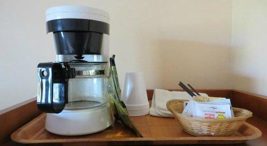 Best Seven Inn: Coffee maker