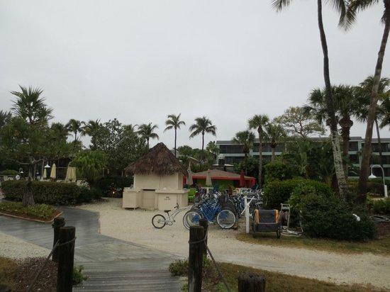 Sanibel Inn: Bikes and what not