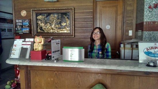 Little Saigon Boutique Hotel : Our Reception with Tripadvisor Award