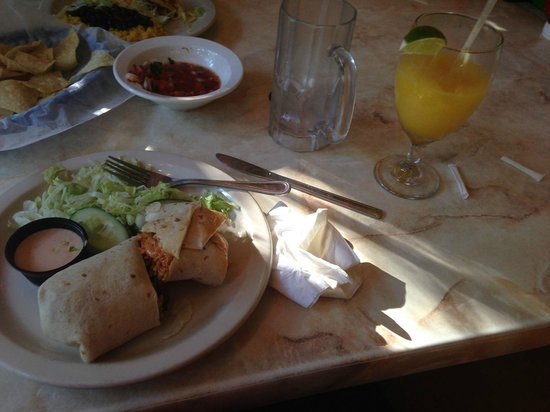Cantina Captiva: Chicken Burrito
