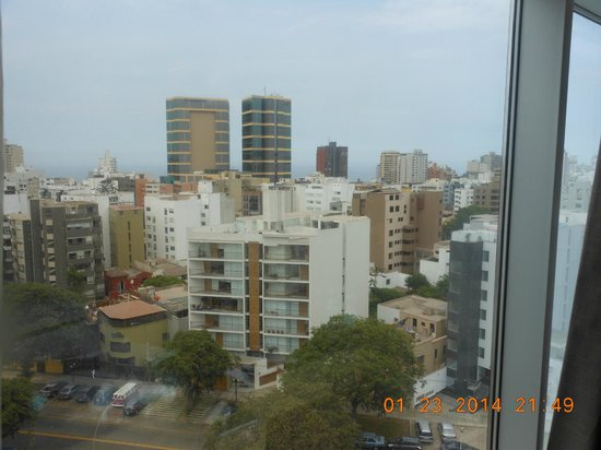 Hilton Lima Miraflores: View from room
