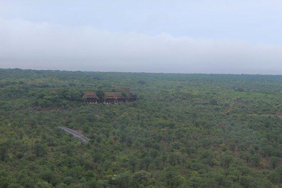 Victoria Falls Safari Club: Aerial view
