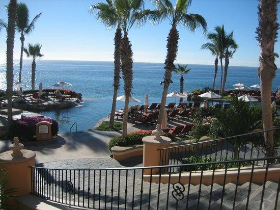 Sheraton Grand Los Cabos Hacienda Del Mar: view from patio outside bar