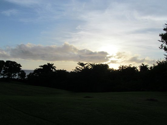 Goblin Hill Villas at San San : Sunrise view from property