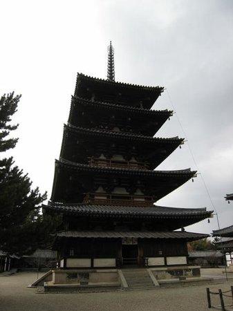 Horyuji Temple: 五重塔