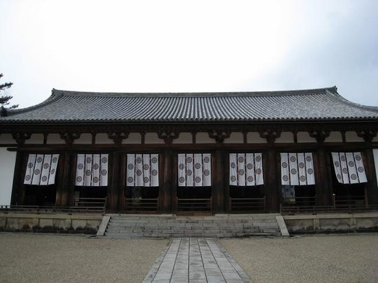 Horyuji Temple: 大講堂