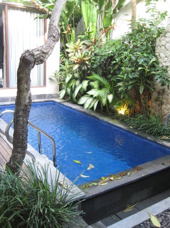 The Dipan Resort Petitenget : villa's pool